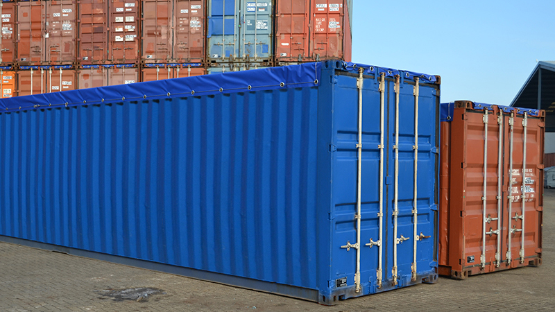 Rebuild open top container | Meeberg ISO Tanks & Containers